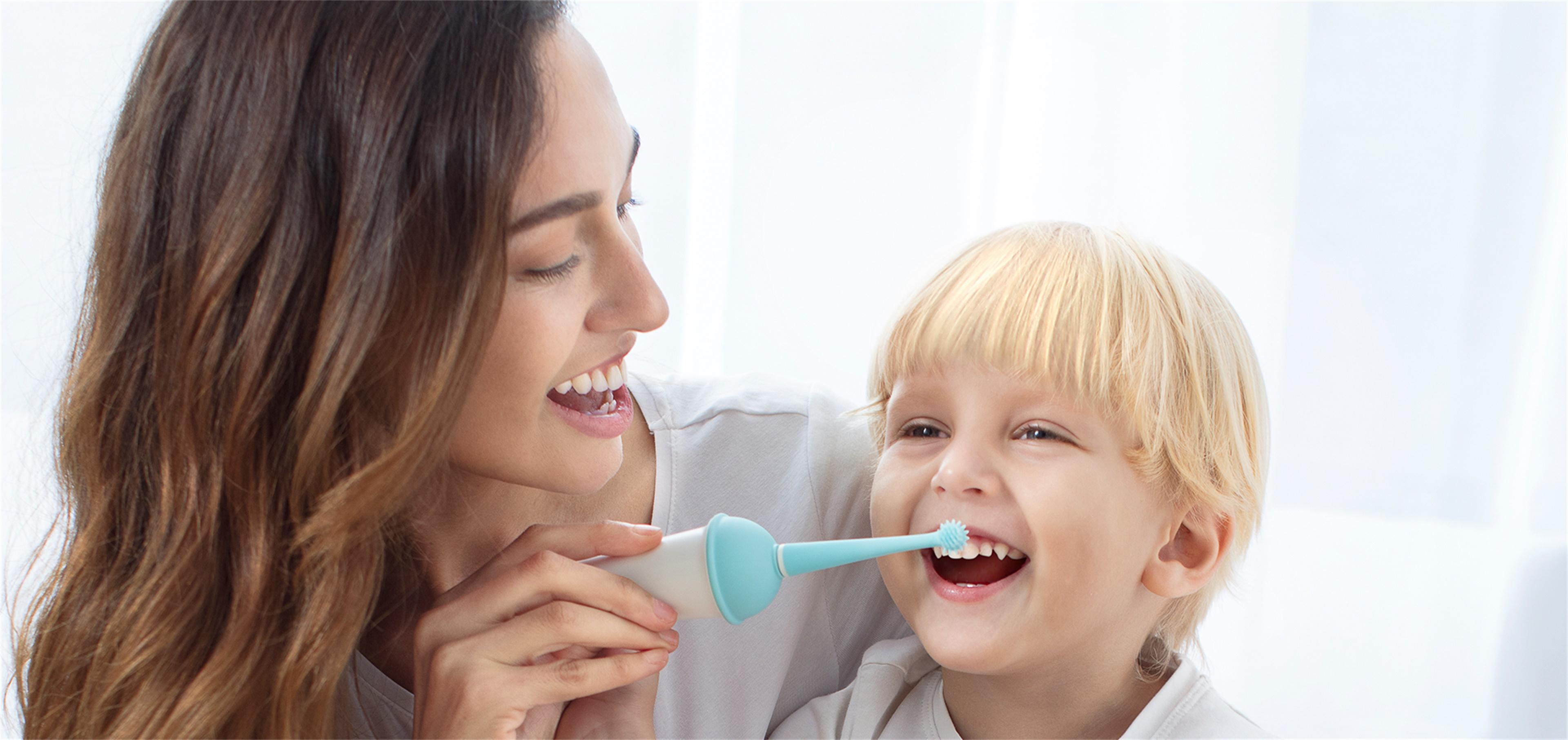 usmile电动牙刷_专为儿童敏感口腔设计,给宝宝妈妈般的呵护